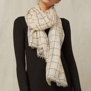 Rachel Pally Accessories - Rachel pally windowpane plaid lightweight scarf